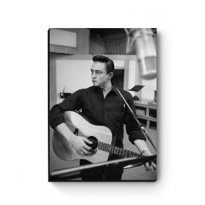 Quadro decorativo MDF Johnny Cash MOD2