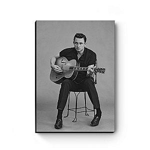 Quadro decorativo MDF Johnny Cash MOD3