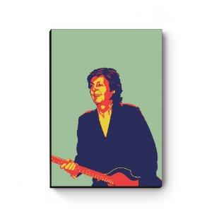 Quadro decorativo MDF Paul McCartney MOD2