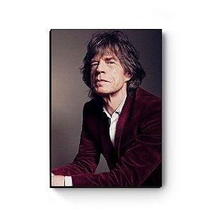 Quadro decorativo MDF Mick Jagger MOD3