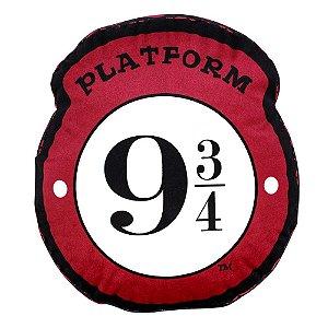 Almofada fibra formato Plataforma 9 3/4 - Harry Potter