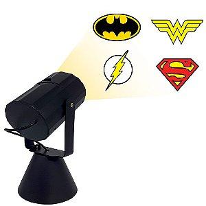 Luminária projetor - Liga da Justiça DC
