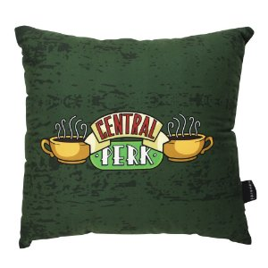 Almofada Fibra Veludo Friends Central Perk