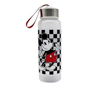 Garrafa Com Alça 700ML Mickey Mouse Xadrez