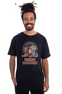 Camiseta Marvel grupo retro