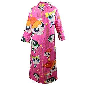 Cobertor com mangas - Meninas Super Poderosas