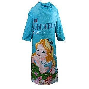 Cobertor com mangas - Alice no País das Maravilhas