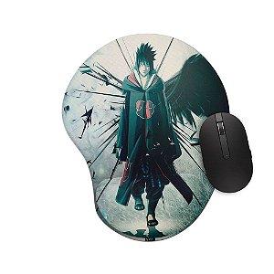 Mousepad Ergonômico Naruto Sasuke