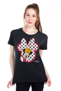 Camiseta Minnie Silhueta