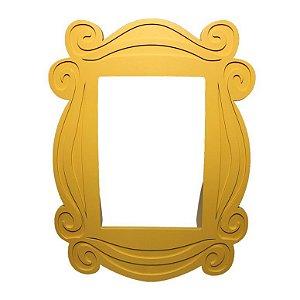Porta Retrato Moldura Amarela