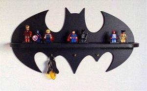 Prateleira Herói Bat em MDF 60x28cm