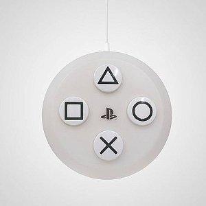 Luminária Botão Paystation PS5 - Pendente