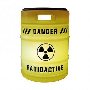 Banqueta Luminária Barril Chopp - Amarelo Radioativo