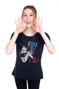 Camiseta Feminina Arlequina