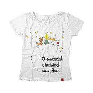 Camiseta Feminina - Pequeno Príncipe