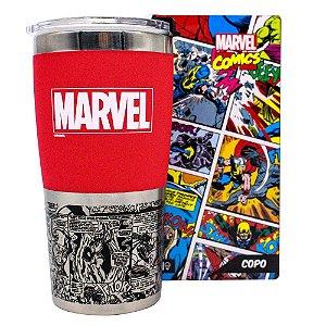 Copo Viagem Marvel Classic