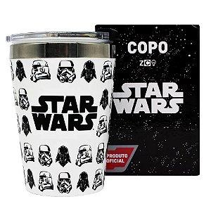 Copo Viagem Stormtroopers e Darth Vader