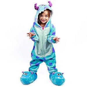 Macacão Kigurumi Infantil Sullivan De 3 a 4 anos