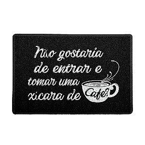 CAPACHO TOMAR UMA XÍCARA DE CAFÉ