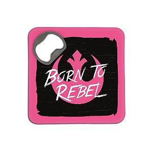 Porta copos com abridor - Rebel
