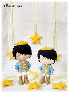Príncipes em Feltro - 30 cm