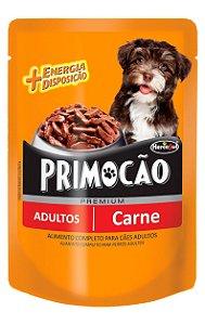 Ração Úmida Primocão Sachê Sabor Carne para Cães Adultos - 100g