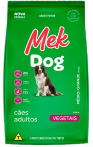 Ração Mek Vegetal para Cães Adultos