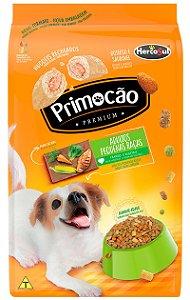 Ração Primocão Sabor Frango e Vegetais Raças Pequenas para Cães Adultos - 10,1Kg
