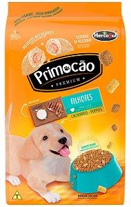 Ração Primocão Sabor Carne e Leite Todas as Raças para Cães Filhotes