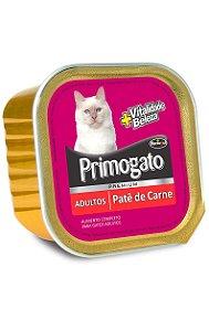 Patê Primogato Sabor Carne para Gatos Adultos - 300 g