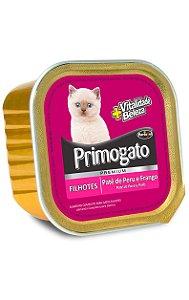 Patê Primogato Sabor Peru e Frango para Gatos Filhotes - 300 g
