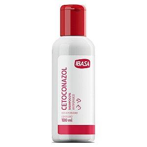 Shampoo Antifúngico Ibasa Cetoconazol para Cães e Gatos - 100ml