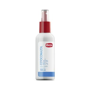 Spray Antifúngico Ibasa Cetoconazol 2% - 100ml