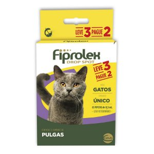 Fiprolex Gatos Kit Antipulgas Ceva Leve 3 Pague 2