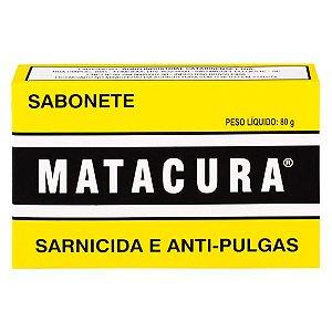 Sabonete Sarnicida e Antipulgas Matacura 80g