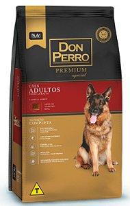 Ração Don Perro Premium Especial para Cães Adultos Carne e Arroz - 20kg