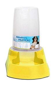 Bebedouro Automático 6,5 litros Praticão Amarelo - Alvorada