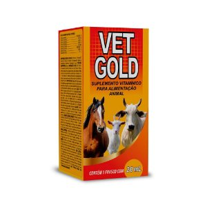 VET GOLD 50ml - Vetbras