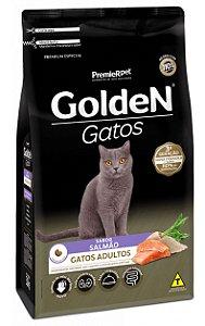 Ração Golden Sabor Salmão para Gatos Adultos - 10,1Kg