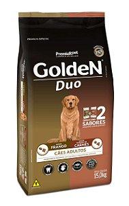 Ração Premier Golden Fórmula DUO Cães Adultos Frango e Seleção de Carnes - 15kg