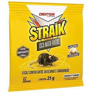 Isca Mata Ratos 25g Straik - Dexter Latina