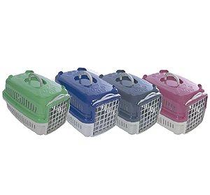 Caixa de Transporte Pata Forte para Cães e Gatos - N° 1