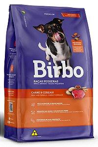 Ração Birbo Premium Sabor Carne e Cereais para Cães Adultos Raças Pequenas - 10Kg