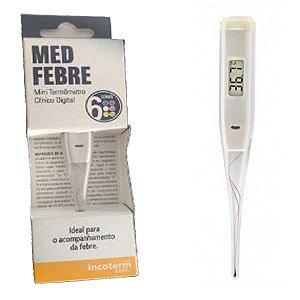 Termometro Clinico Digital Branco Medfebre - Incoterm