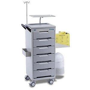 Carro Para Medicamentos Instrumentos CP500 - Ecafix