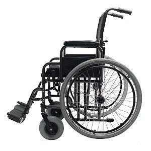 Cadeira De Rodas Adulto Em Aço Dobrável D400 T48 Dellamed