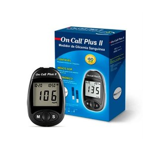 Aparelho Monitor De Glicemia On Call Plus 2