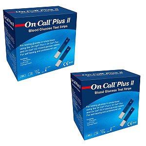100 Tiras De Glicemia Para Teste De Glicose On Call Plus Il
