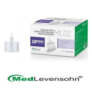 Agulha Para Caneta Insulina Medlevensohn Ml01 29g 10mm - 100un