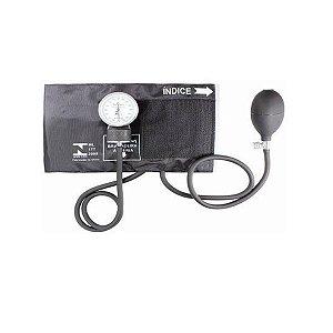 Aparelho Medidor De Pressão Esfigmomanômetro Premium - Preto